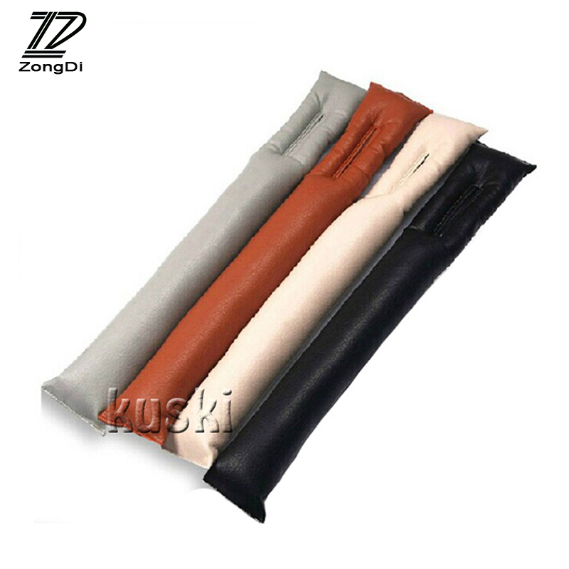 ZD Car <font><b>Styling</b></font> Seat Gap Filler Pad Cover For Mercedes Alfa Romeo Fiat 500 <font><b>BMW</b></font> E39 E46 E90 <font><b>E60</b></font> E36 F30 Mini Cooper Accessories image