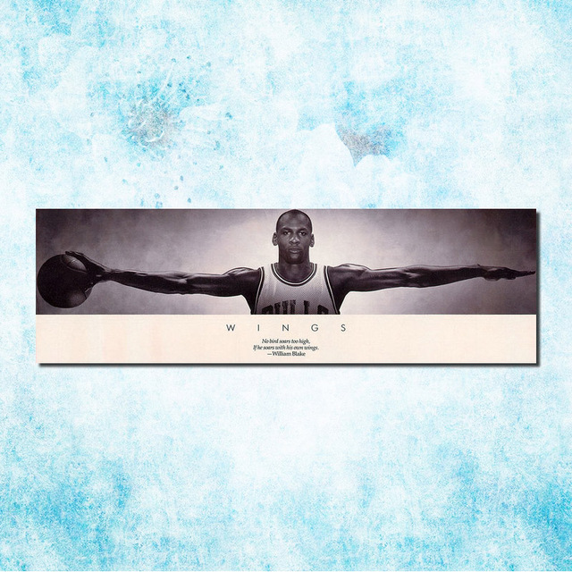 7d234ff0ff2d Michael Jordan Shoes MJ 23 Chicago Bulls NBA MVP Basketball Silk Canvas  Poster 13x43inch Picture For Room Decor (more)-12