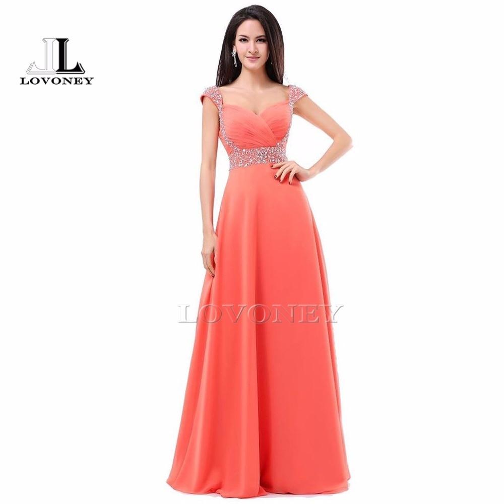 2019 New Design A-Line Sweetheart Chiffon Beading Floor-Length Long   Evening     Dress   Formal   Dresses   Vestido De Festa S321