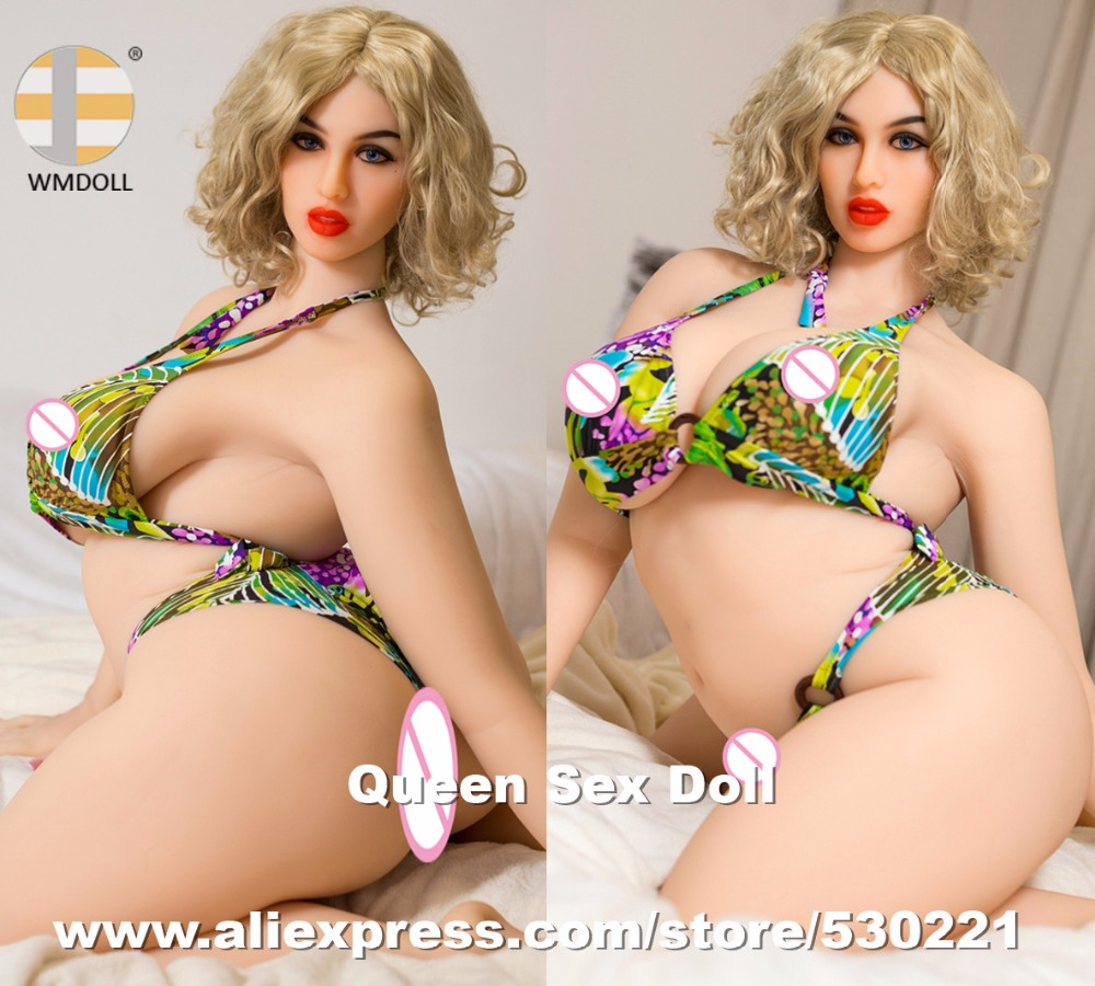 NEW WMDOLL 168cm Top Quality <font><b>fat</b></font> realistic <font><b>sex</b></font> dolls huge butt lifelike silicone adult love doll vagina mannequins sexy <font><b>toy</b></font> image