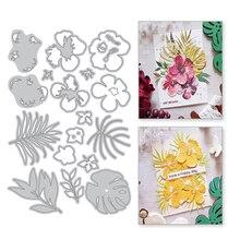 Eastshape Leaf Flower Branch Metal Cutting Dies Scrapbooking New 2019 Die Cut For Making Card Craft DIY Decoration Stencils