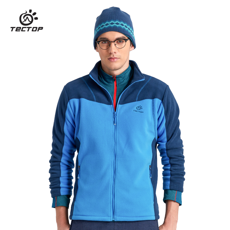 Tectop Outdoor Fleece Jacket Autumn and Winter Sportwear for Men And Women tectop winter 90
