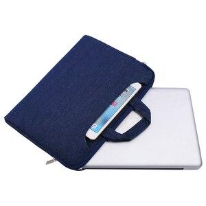 Image 3 - MOSISO Laptop Bag Case 15.6 15.4 13.3 Waterproof Notebook Shoulder Bags Women Men for MacBook Air Pro 13 15 inch  Computer Bag
