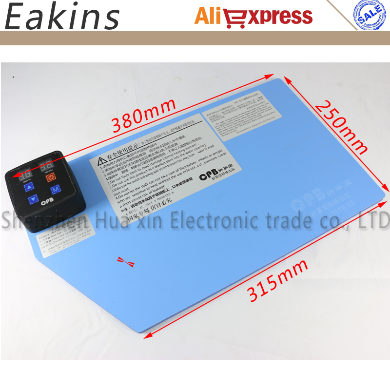 LCD Separator Touch Screen Glass Machine Heating Silicone Plate To Split Separate Digitzer Touch Screen for
