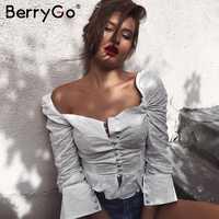 d27efe3f8a1 ... длинным рукавом баски Блузка Белый Многоуровневое Слои обычный Топ Для  женщин Элегантная блузка. -45%. US  16.98. BerryGo Винтаж печати шифон  блузка ...