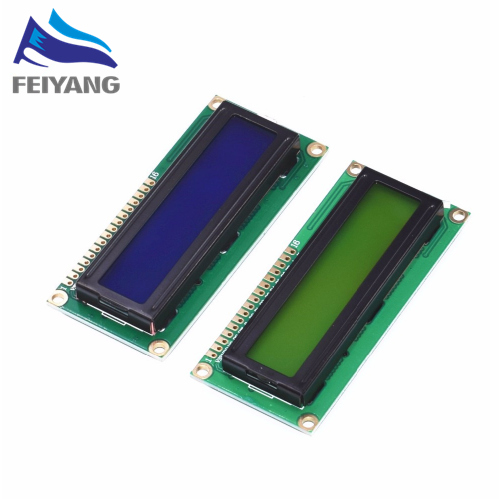 Free shipping 20pcs 1602 16x2 Character LCD Display Module HD44780 Controller Blue Green screen blacklight LCD1602
