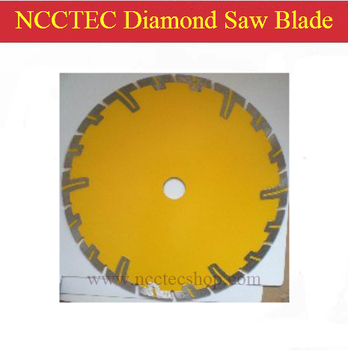8'' 200mm Diamond DRY cutting disk saw blade plate wheel with long short protective teeth for DRY cutting granite sandstone