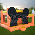 Oferta especial, Em estoque, Mickey mouse bouncer inflável com piscina de bolinhas oceano, Brinquedos infláveis de salto, Brinquedos infláveis trampolins