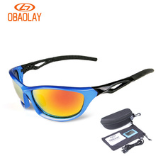 OBAOLAY Polarized Cycling Sunglasses TR90 glasses for Bicycle Men MBT Road Riding Bike Glasses oculos de ciclismo fietsbril