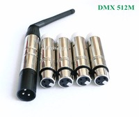 2 4G 126Ch Wireless DMX DMX512 DJ System Receiver Transmitter Xmas Controller