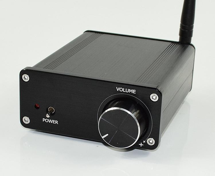 Finished New ISSC Bluetooth TDA7498 2.0 HIFI Digital Amplifier 100W+100W Mini Audio Amp tiancoolkei mini tda7498 200w ultra high power hifi audio digital power amplifier 100w 100w home audio video amplifiers black