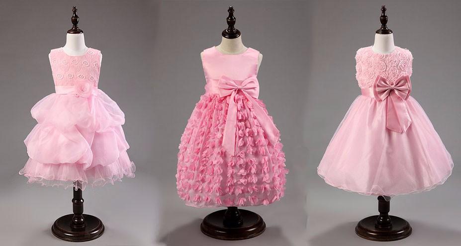 осень девочки платье пачка платья длинный рукав бальное платье дети принцесса кружево платье милый дети одежда