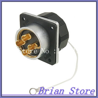 WS32-4 Welding 4 Female Terminals Core Aviation Circular Connector Plug 500V 50A tangda connectors servo motor plug aviation plug vw3m8122 17p 17pin 17 core ms3108b 20 29s elbow ydm30200447 a