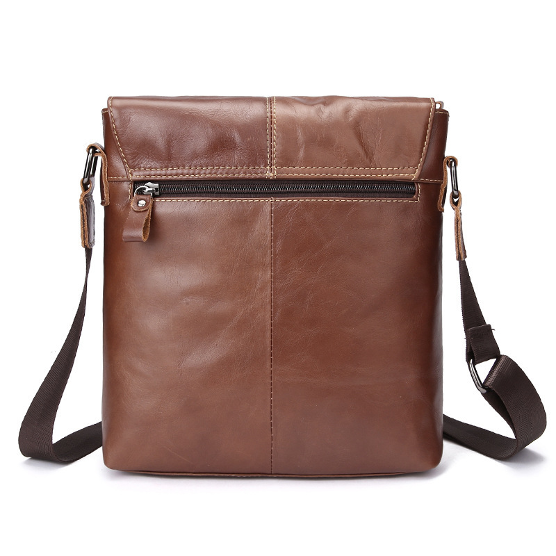 Neweekend Men Messenger Bags Luxury Genuine Leather Men Bag High Quality Shoulder Bag Casual Zipper Office Bags For Men BFL-3358
