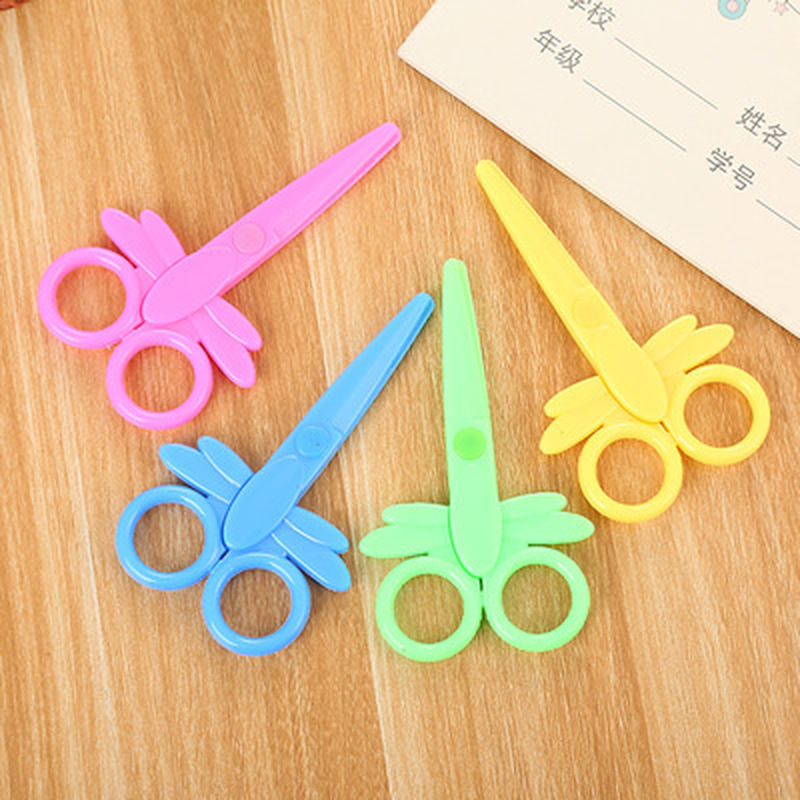 1pcs Candy Scissors Cute Student Craft Scissors Novelty Stationery Hand Shear Crafts Kids Kawaii Kindergarten Supplies
