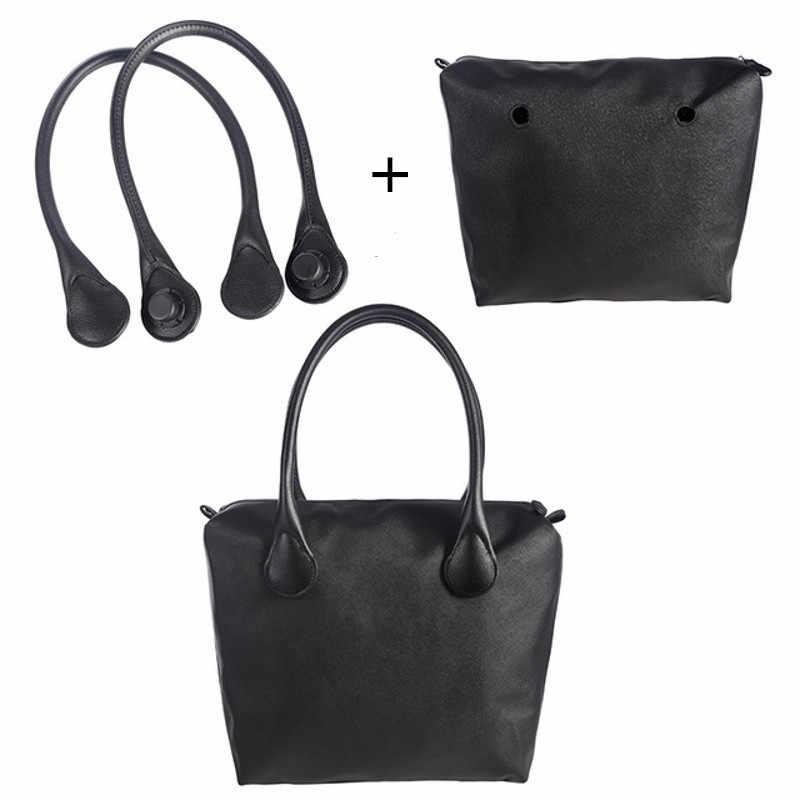 LHLYSGS auténtico Obag bolso de mano accesorios extraíbles a juego O bolsa de mano y bolsa interior para mujer estilo italiano asas para bolsos de hombro