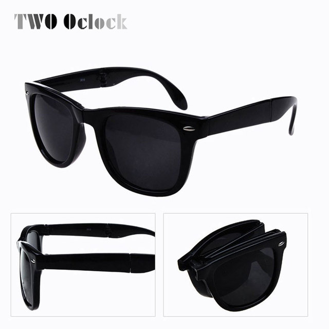 discount mens designer sunglasses  Cool Retro folding sunglasses Cheap women designer discount sun ...