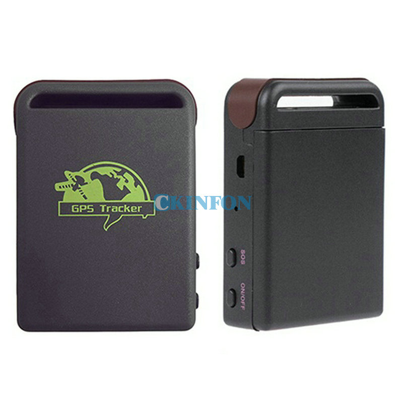 DHL 100 PCS Mini Vehicle GSM GPRS GPS Tracker or Car Vehicle Tracking Locator Device TK102B