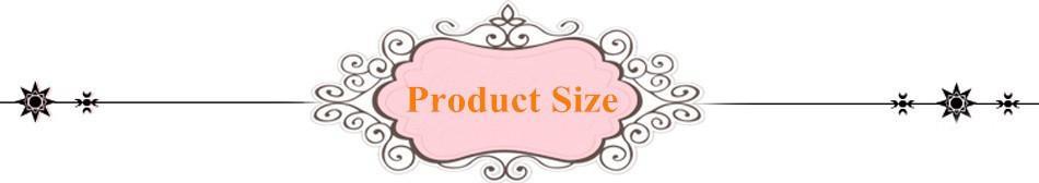 product size chart