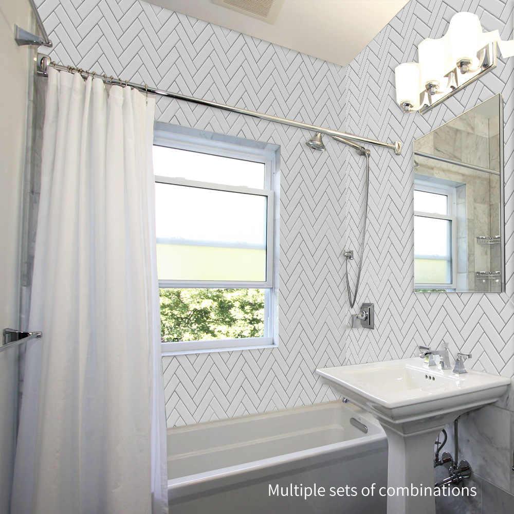 funlife kitchen backsplash wall tile sticker waterproof peel stick marble tiles adhesive bathroom sticker wall tile decoration