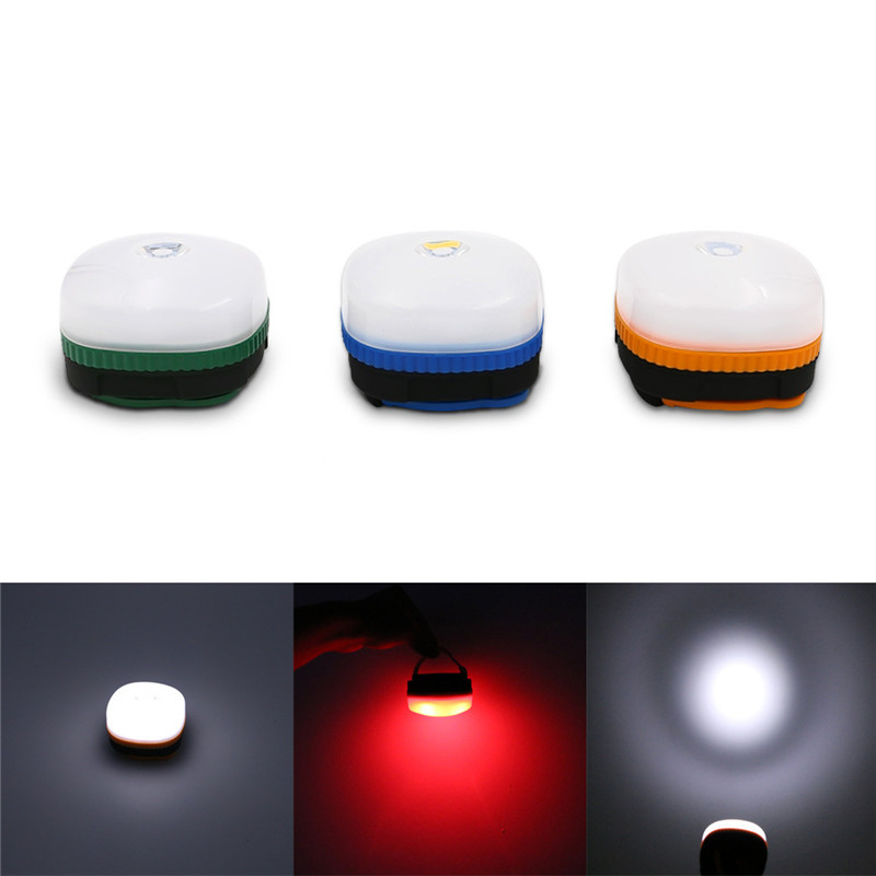 Outdoor LED plastic chandelier camping tent emergency work energy saving mini night light with hook magnet lighting emergency