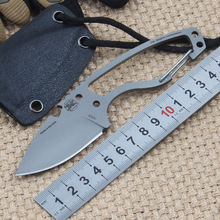 Survival knife DPX fixed blade knife outdoor camping utility tactical knife S30V blade rescue hiking hand tools