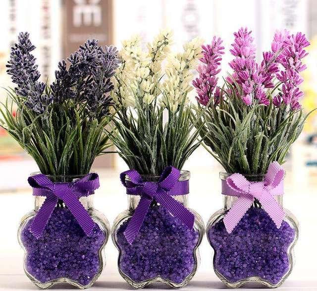 Farbmischung 200 Teile/beutel Französisch Provence Lavendel Samen Duftenden Organische Lavendel Samen Bonsai Pflanze Blumensamen Hausgarten