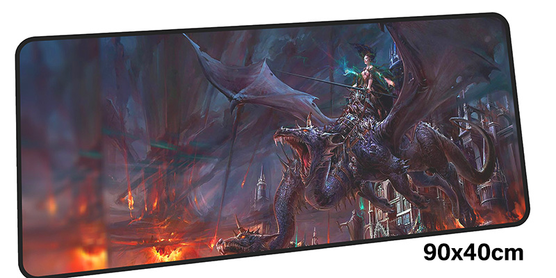 dragon age mousepad gamer 900x400X3MM gaming mouse pad large High quality notebook pc accessories laptop padmouse ergonomic mat