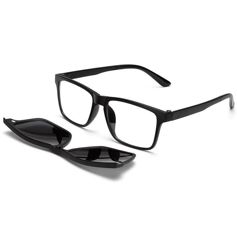 Hombres Gafas de sol hombre ojo Gafas Marcos Polarized clip ...
