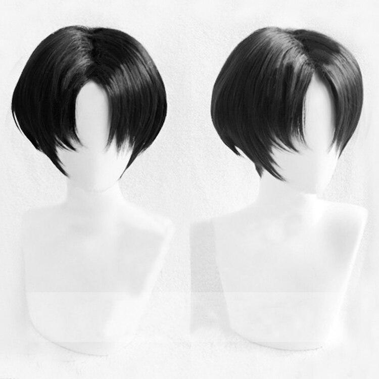 Killing Stalking Yoon Bum Yoonbum Short Black Heat Resistant Cosplay Costume Wig