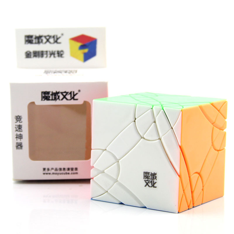 Amicable New Moyu Axis Time Wheel Cube Stickerless Creative Magic Cube Timewheel Speed Puzzle Special Toys For Challenge Children Agreeable To Taste Magic Cubes