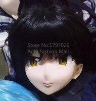 Kigurumiตัวการ์ตูนที่ทำด้วยมือน้ำยางหญิงซิลิโคนเต็มใบหน้าKigurumiหน้ากากคอส