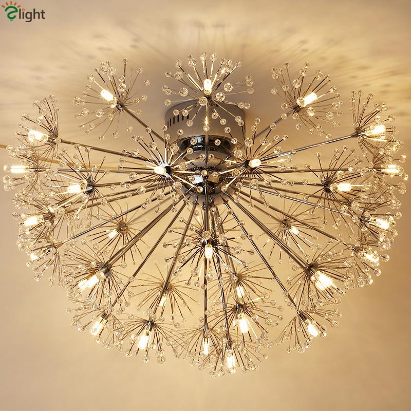 Nordic Designer Dandelion G4 Led Առաստաղի լույսեր - Ներքին լուսավորություն
