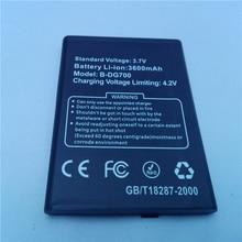 Ocolor for DG700 battery 4000mAh Li-ion backup battery for DOOGEE TITANS2 DG700 smartphone цена