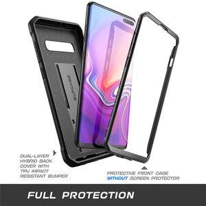 Image 3 - SUPCASE Per Samsung Galaxy S10 5G Caso (2019) UB Pro di Tutto il Corpo Robusto, custodia per Armi Kickstand Copertura SENZA Built in Protezione Dello Schermo