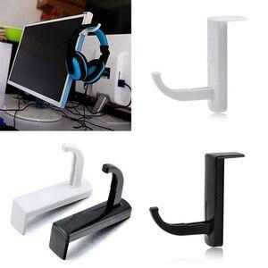 Image 4 - עמיד אוזניות Stand עם מקל אוזניות מחזיק קיר שולחן תצוגת אוזניות Stand צורת L סוגר אוזניות קולב אבזרים