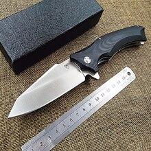 KESIWO couteau pliant en plein air survie poche Camping chasse Flipper utilitaire D2 lame G10 poignée tactique EDC Multi cuisine outil