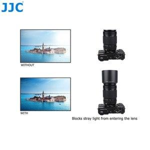 Image 5 - JJC عدسة هود ل فوجي فيلم XF 55 200 مللي متر F3.5 4.8R LM OIS عدسة على X T4 X T200 X A7 X T20 يستبدل FUJIFILM 55 200 مللي متر عدسة الظل