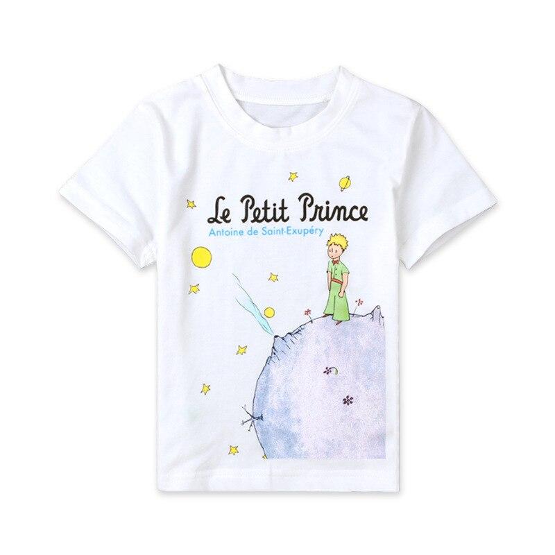 kids boys cartoon clothes white t shirt le petit prince. Black Bedroom Furniture Sets. Home Design Ideas