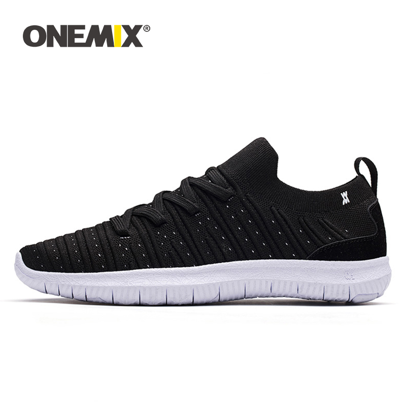 ONEMIX 2019 Summer New Men Shoes Sneakers Lightweight Running Shoes Women Casual Lace up Walking Jogging