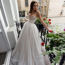 Bianco Abito Da Sera Lungo 2019 Sweeyheart Una Linea Senza Maniche In Chiffon Bordante Backless Abito Da Sera robe de soiree(China)