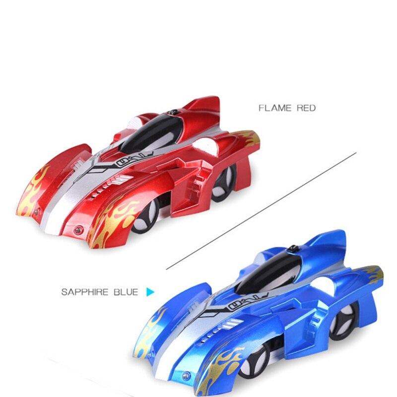 Nuevo RC escalada coche de Control remoto Anti Gravedad de techo coche de carreras juguetes eléctricos automático de la máquina de regalo para los niños RC coche 2018