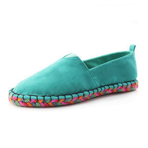 ФОТО New Arrival,NiceNew Design Women Colorful espadrilles, Girl Pure Color Canvas Shoes ,flat Shoes