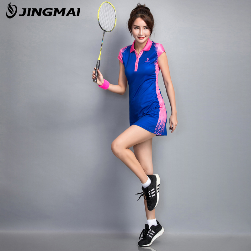 New Spring and Summer Tennis Badminton Dress Female Suit with Short Pants new children s tennis badminton dress girls breathable quick drying summer tennis suit sports dress with short pants