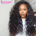 5*4.5 Silk Top Full Lace Wigs With Natural Hairline Deep Curly Virgin Brazilian Human Hair Silk Base Wigs For Black Women