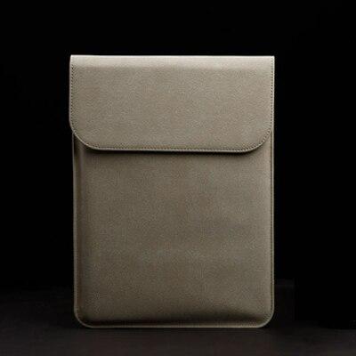 Новая сумка для ноутбука с эффектом потертости для Macbook Air 13 Pro retina 11 12 14 15 чехол для Xiaomi 13,3 15,6 Модный чехол для ноутбука - Цвет: Khaki