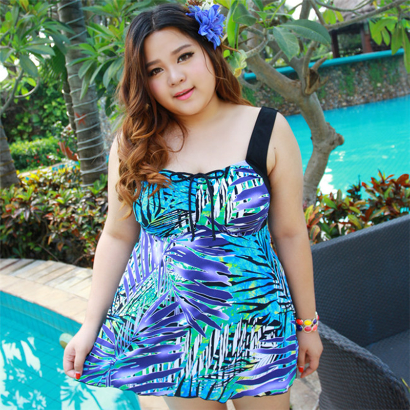 Swimwear Women Summer Dress One Piece Swimsuit Big Women Extra Large Size Swimwear Big Girl Swimwear Cover Ups Plus Size 4XL-9XL женское платье summer dress 2015cute o women dress
