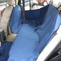 Ambiental Oxford Dog Car Voltar Seat Cover Pet Hammock Mat Cães Cama De Viagem Com Assento de Fechamento Com Zíper cinto (preto Vermelho Cinza)