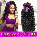 Malaysian Virgin Hair Deep Wave 3 Bundles Deals Wet and Wavy 7a Human Hair Deepwave Cheap Malaysian Deep Curly Virgin Hair Weave