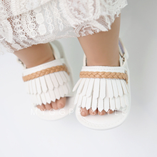 Tassel Baby Summer Shoes Unique Flip For Soft Soles Slippery Safety